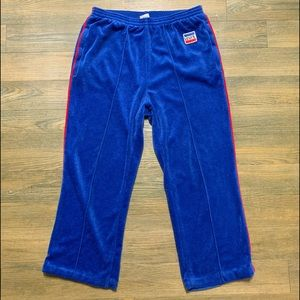 Vintage 70's French Terry Blue Levi's Track Pant L